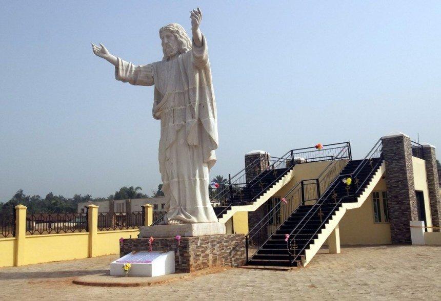 Statue du Christ d'Abajah