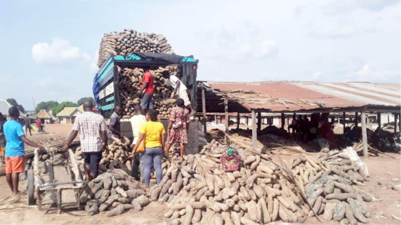 Zaki Biam Yam market