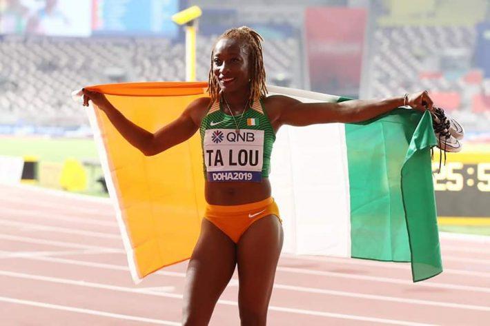 Marie-Josée Ta Lou mondiaux d'athlétisme doha 2019