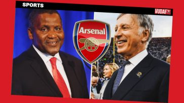 aliko dangote arsenal