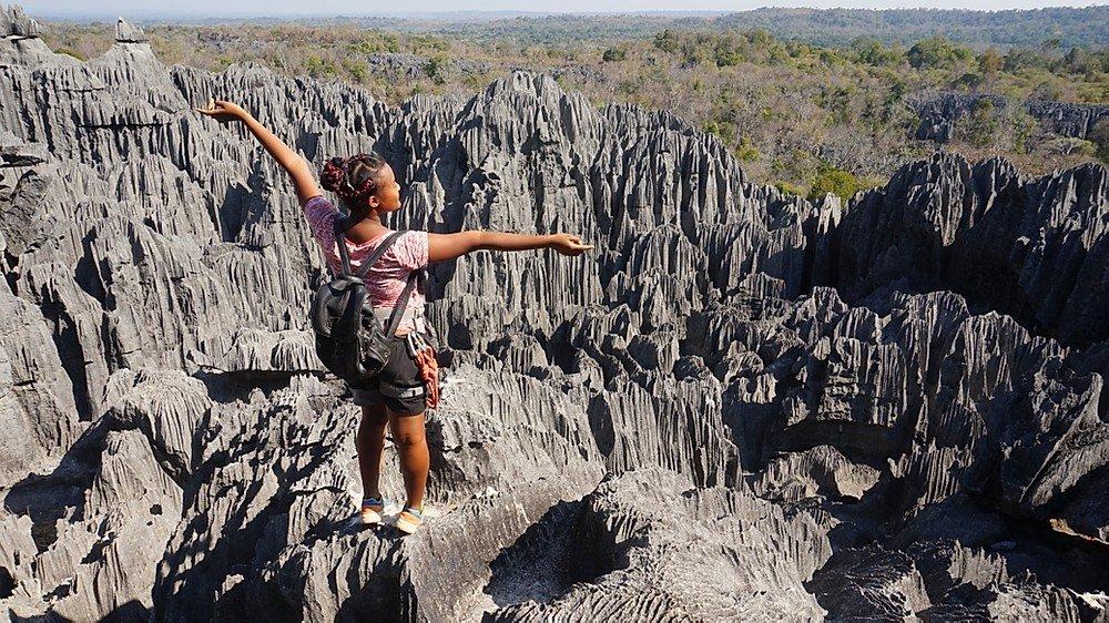 forêt de pierre, les Tsingy de Madagascar