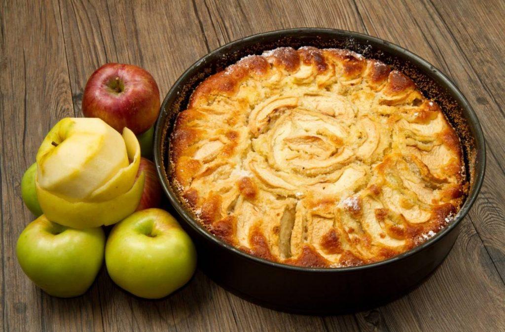tarte aux pommes beurre d'arachide