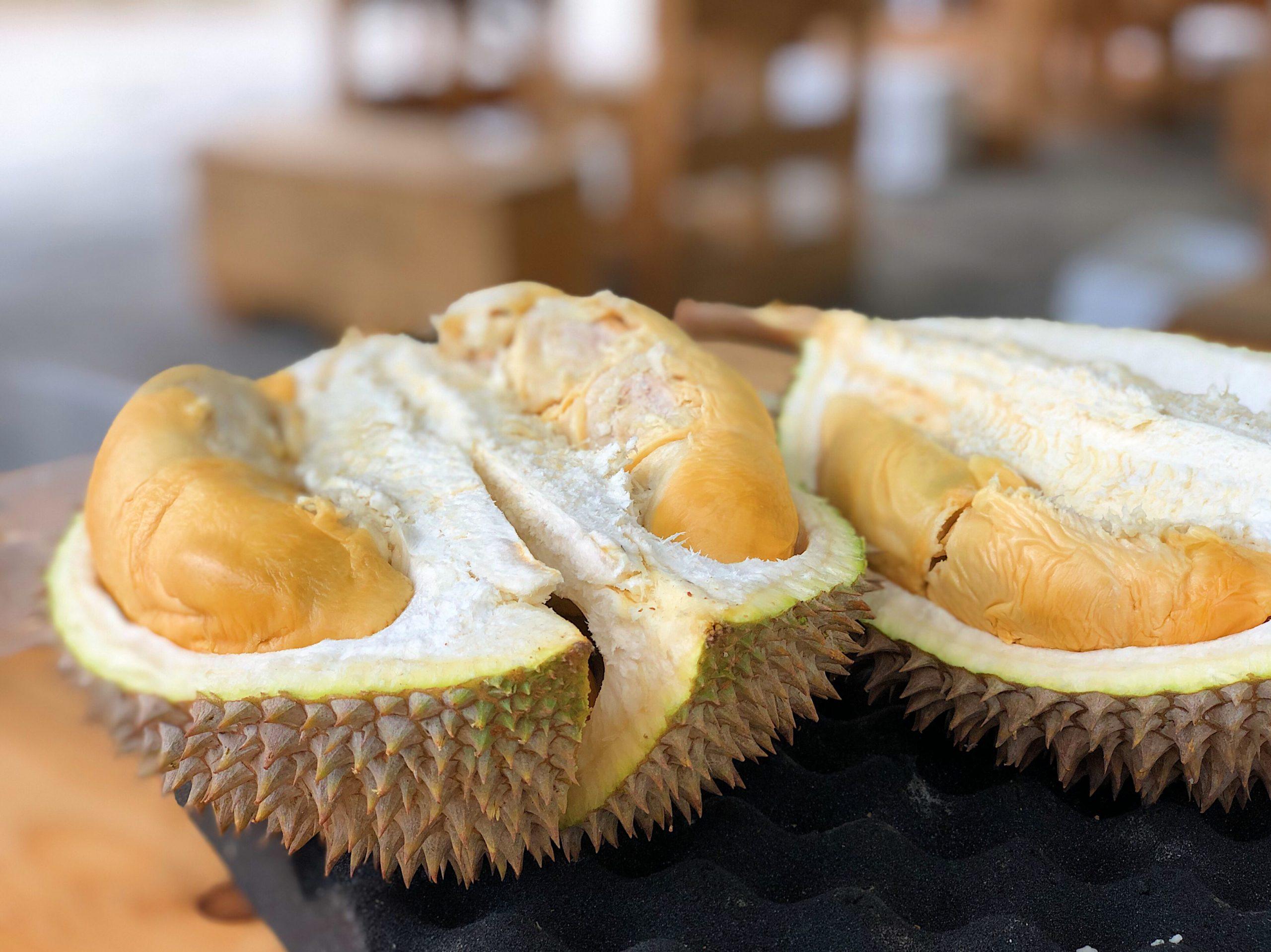 Durian fruit qui pue, fruit qui sent mauvais